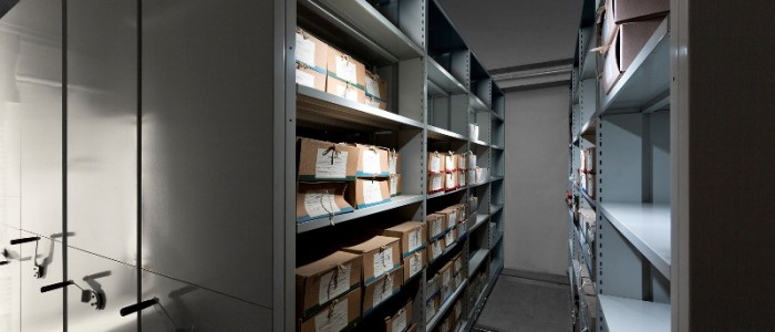 Archive shelves