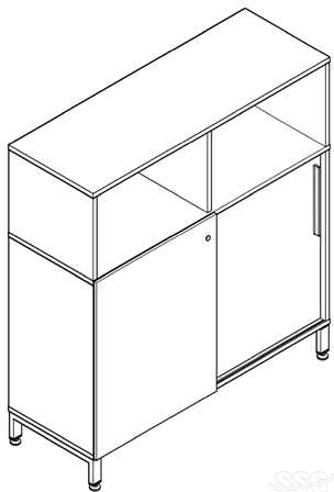 Office furniture drawings